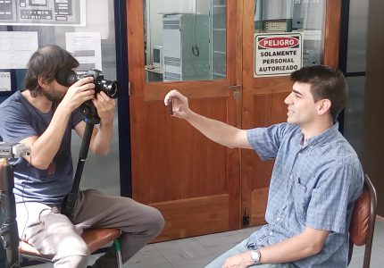 5. Entrevista al Téc. Guillermo Gancio, responsable de desarrollo de instrumentación científica para uso en radioastronomia, y verificación y operación de la Antena I