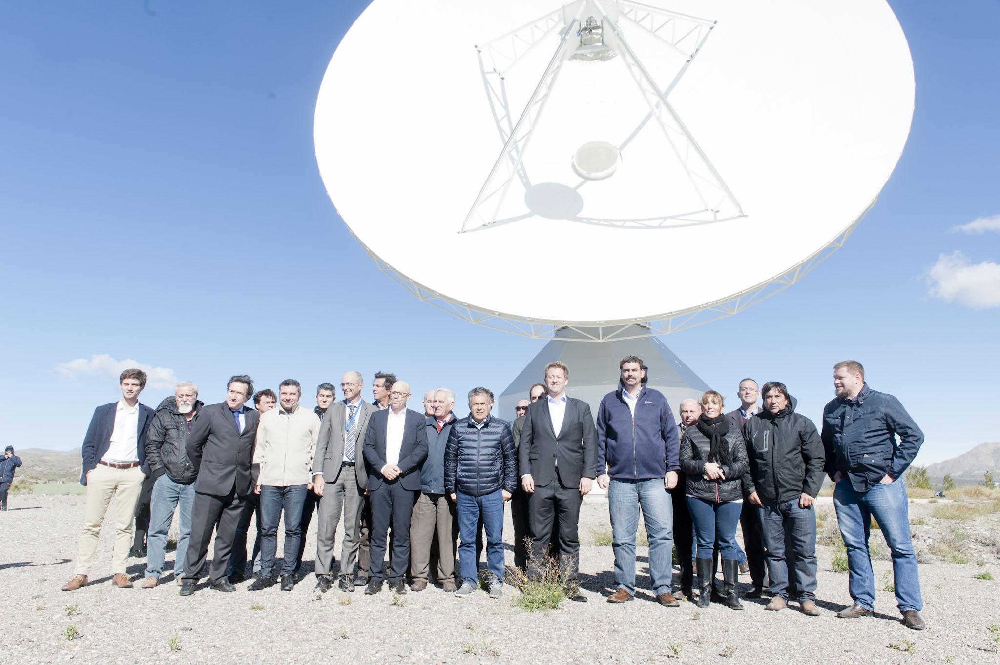 Visita a la Antena de Espacio Profundo en Malargüe – MINCyT (25-04-2017)